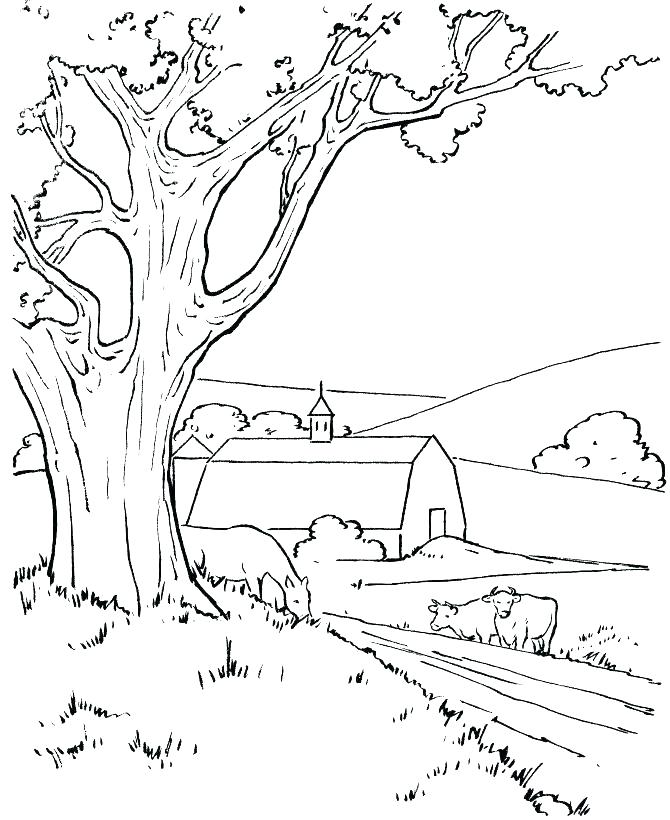 Nature Coloring Pages For Preschoolers at GetDrawings.com | Free for ...