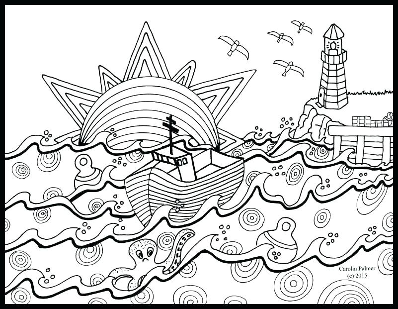 Nautical Star Coloring Pages At Getdrawings Com Free For Personal