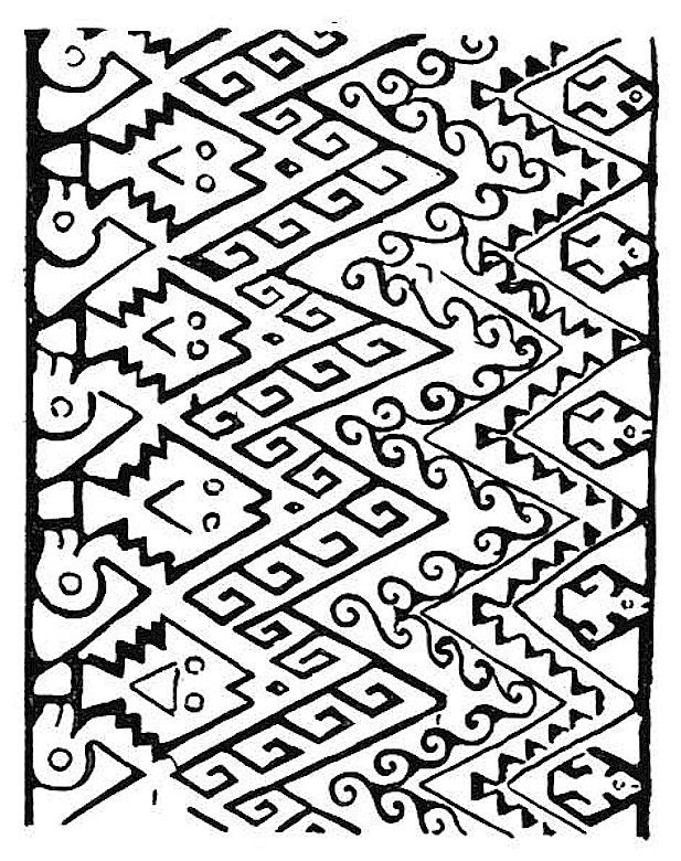 Navajo Designs Coloring Pages