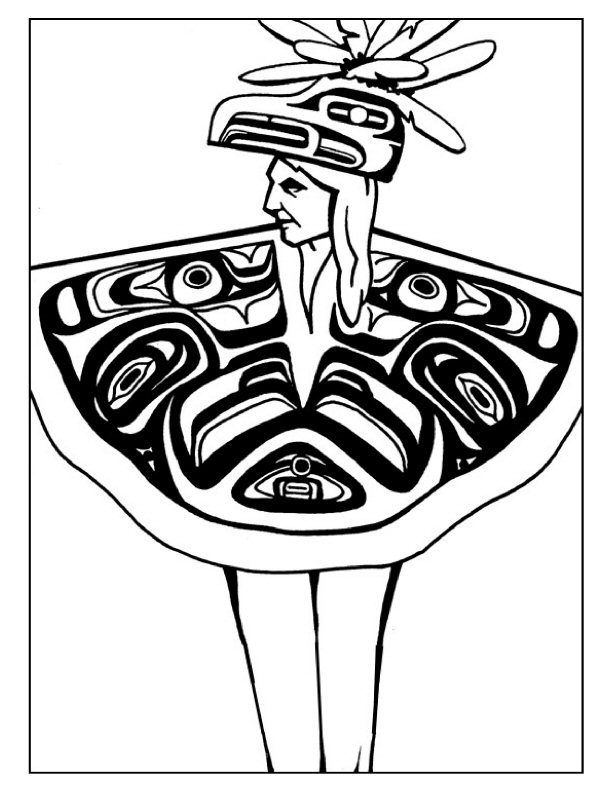 612x792 Navajo Designs Coloring Pages
