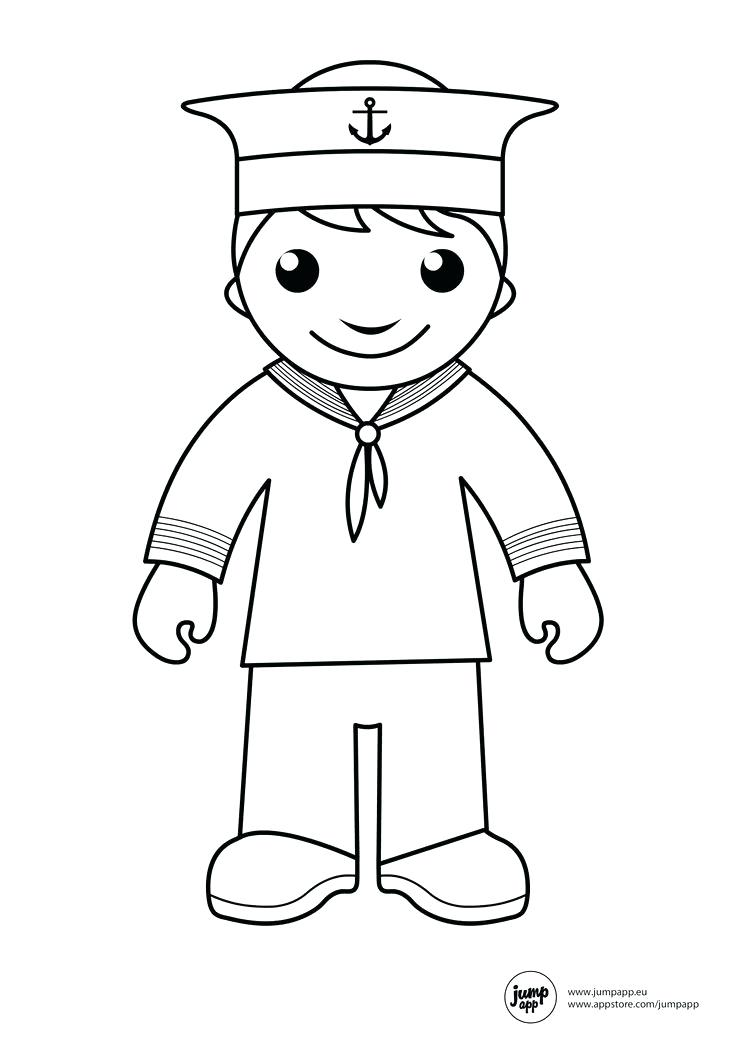736x1041 Inspirational Navy Sailor Coloring Pages And Us Navy Coloring