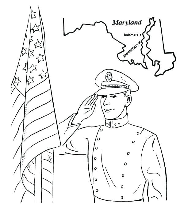 600x692 Navy Coloring Pages Free Printable Veterans Day Coloring Pages As