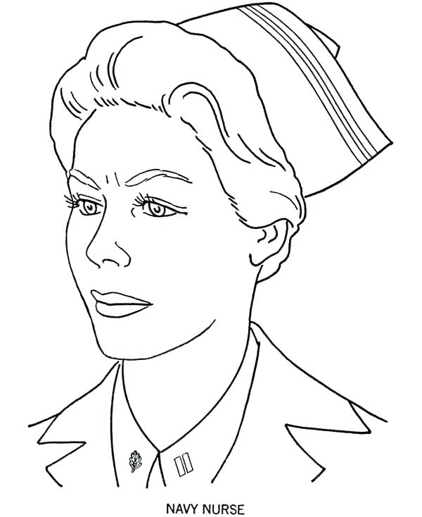 600x734 Navy Coloring Pages Picture Of Navy Nurse Coloring Page Us Navy