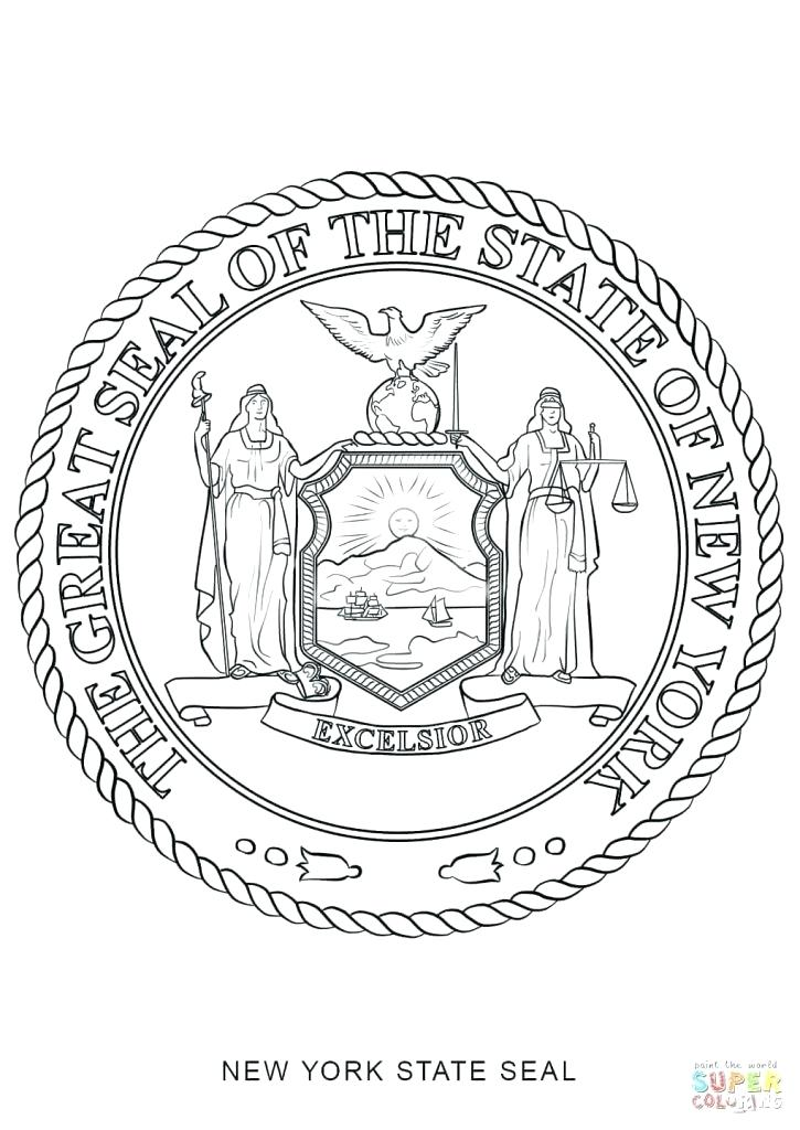 725x1024 Seal Coloring Page New Of State Seal Coloring Page Image Navy
