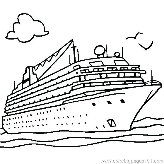 560x560 Ship Coloring Pages Queen Cruise Ship Coloring Pages Ship Coloring