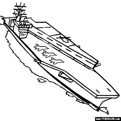 474x474 Us Navy Aircraft Carrier Coloring Pages Baby