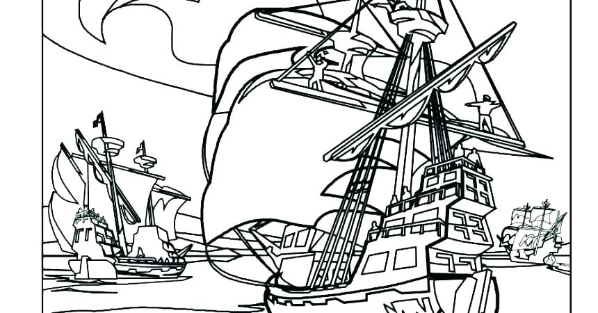 860x450 Navy Boat Coloring Pages