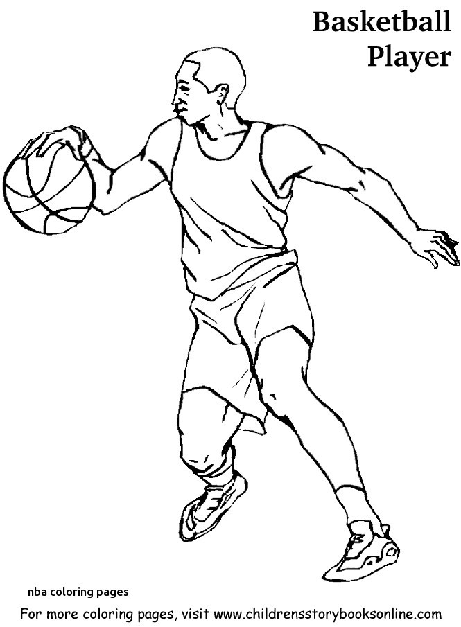 665x905 Nba Coloring Pages Awesome Basketball Coloring Pages For Nba