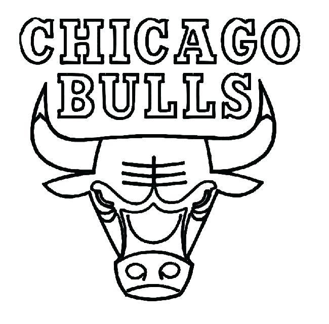 650x640 Nba Logo Coloring Pages Bulls Coloring Sheets Pages World Nba