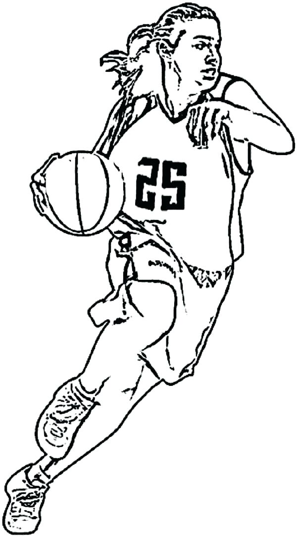600x1084 Nba Coloring Book And Basketball Players Coloring Pages May