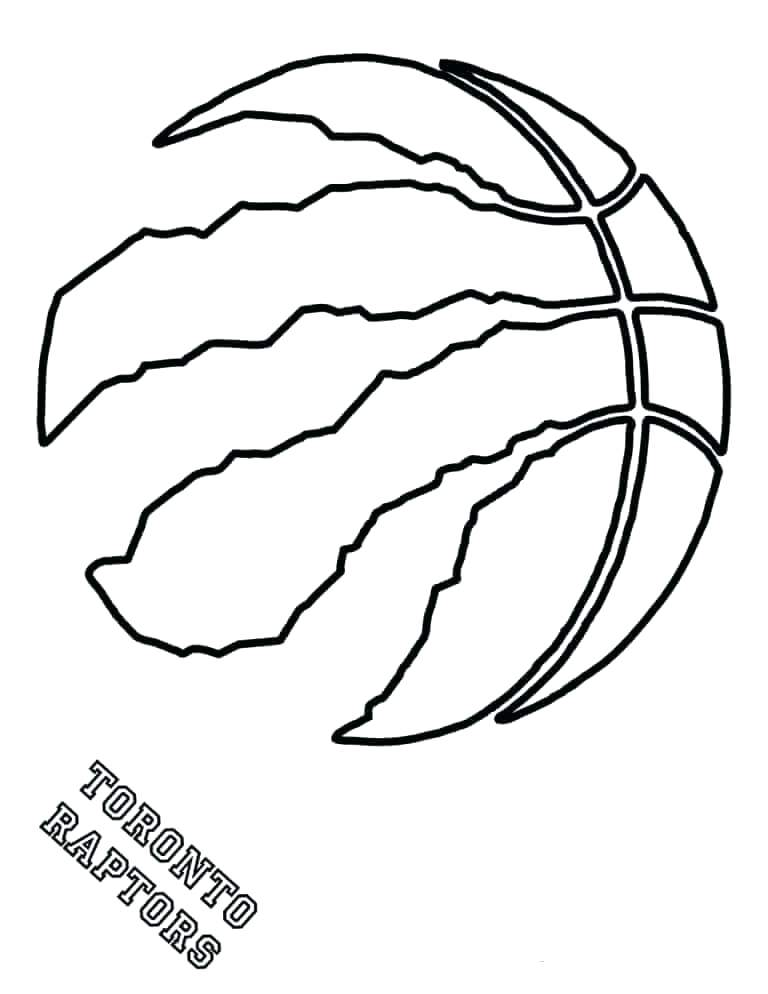 768x994 Nba Coloring Pages