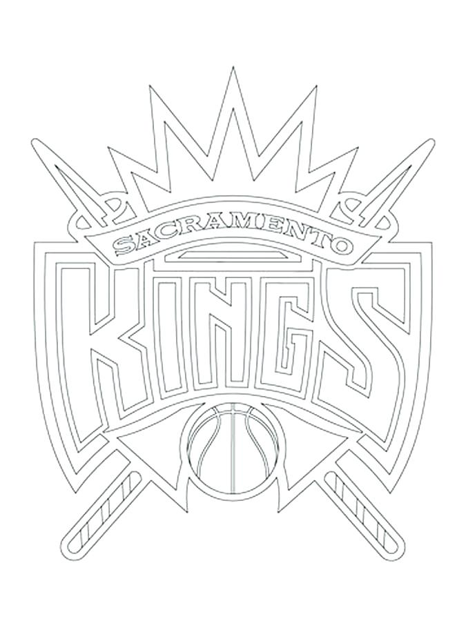 Nba Logo Coloring Pages At Getdrawings Free Download