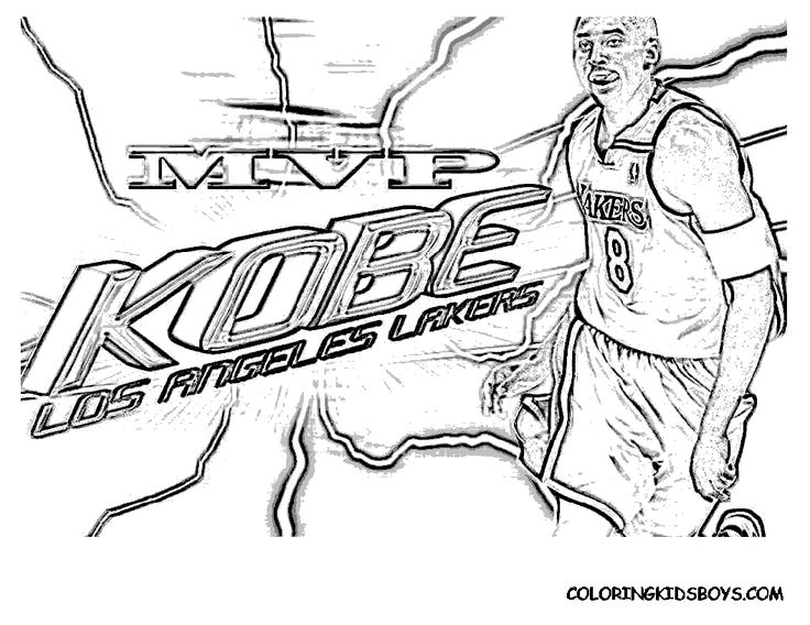 Nba Players Coloring Pages