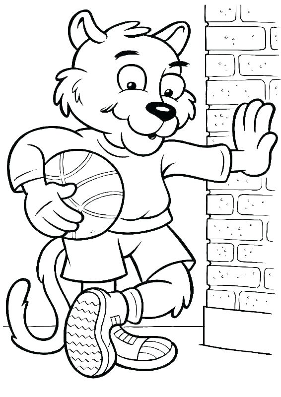 566x800 Players Coloring Pages Players Coloring Pages Coloring Page