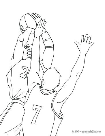 364x470 Nba Players Coloring Pages