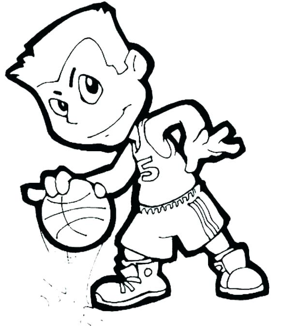 618x689 Basketball Coloring Pages Printable Basketball Coloring Pages