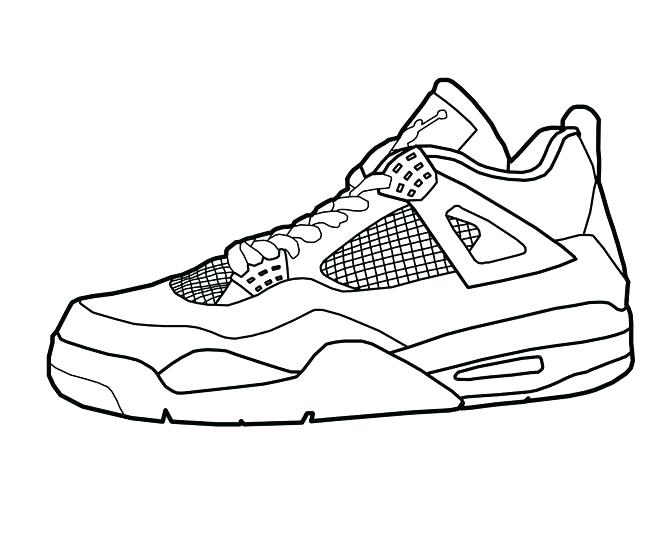 660x545 Coloring Pages Nba Coloring Pages Basketball Basketball Shoes