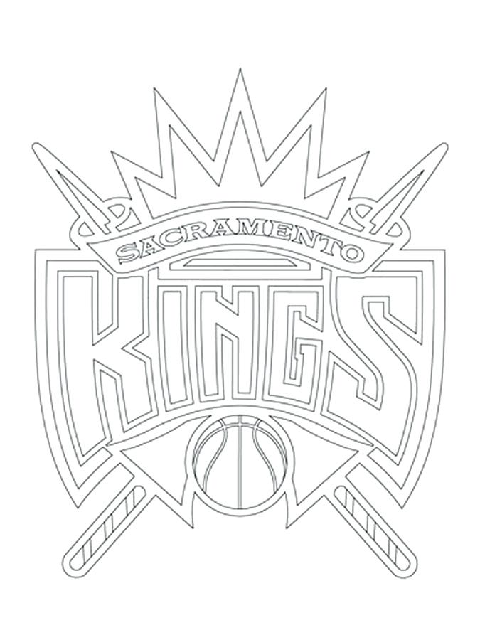 675x900 Nba Coloring Kings Logo Coloring Pages Nba Shoes Coloring Pages