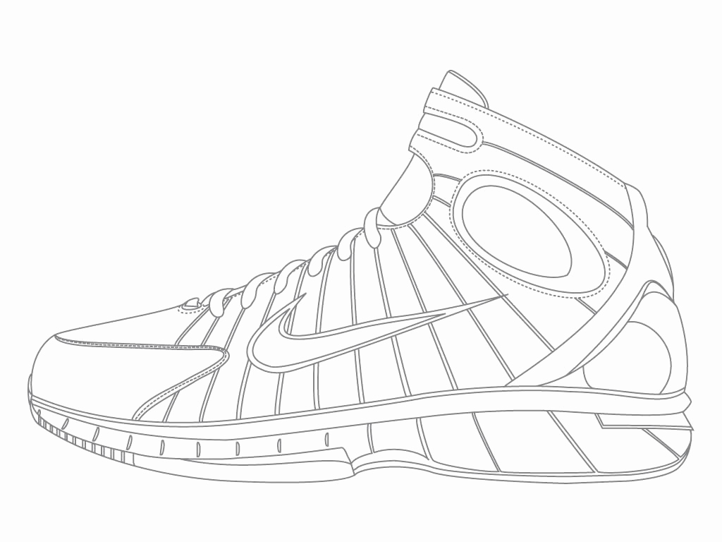 1024x768 Warriors Coloring Pages Nba Shoes Coloring Pages