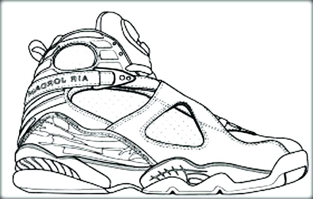 640x408 Basketball Coloring Pages Printable Basketball Shoe Coloring Pages