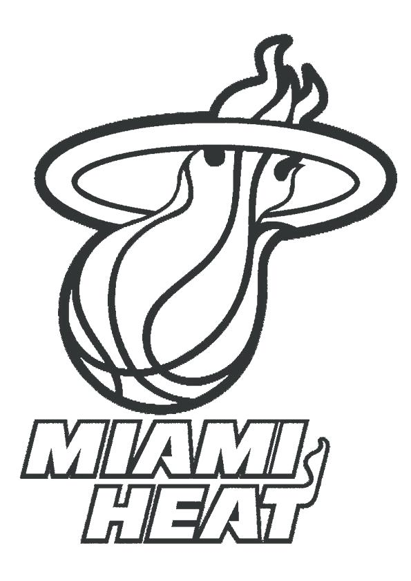 Nba Team Logos Coloring Pages
