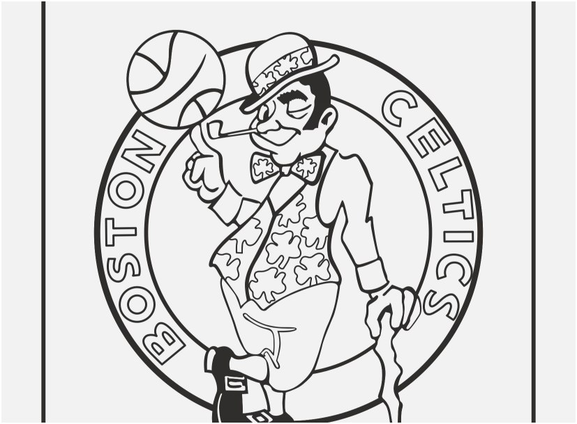 827x609 Cool Coloring Pictures Collection Cool Coloring Pages Nba Teams