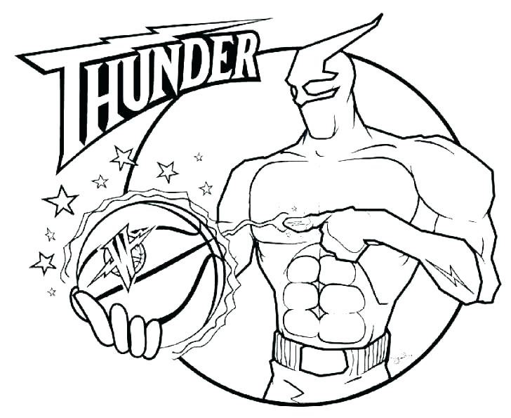 728x595 Nba Logos Coloring Pages Basketball Coloring Pages Basketball