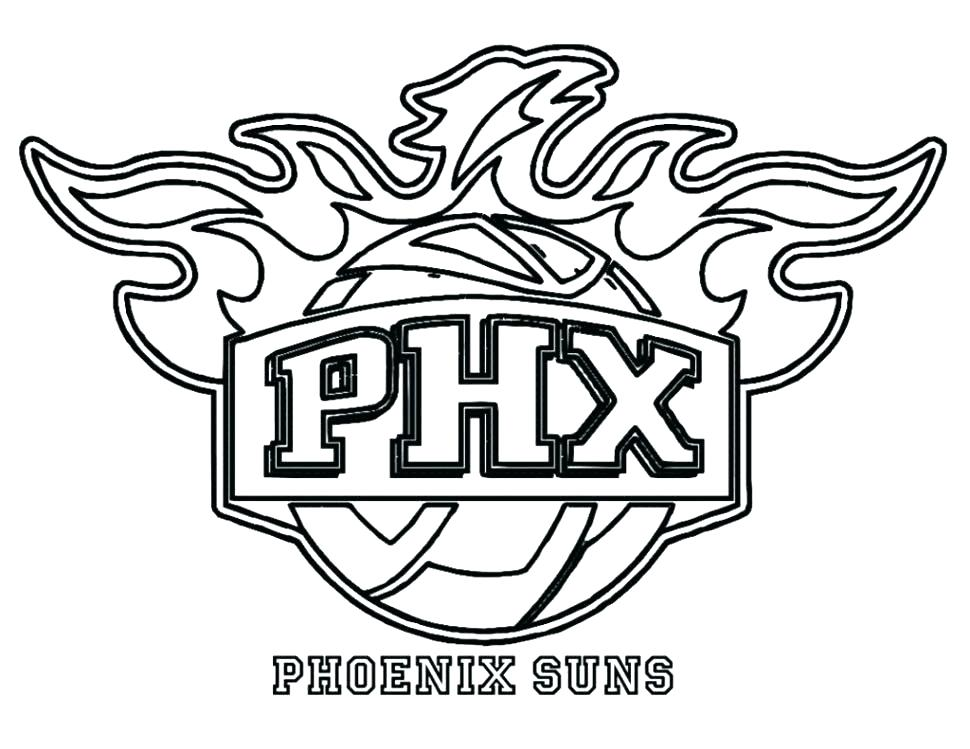 970x749 Nba Logos Coloring Pages Coloring Pages Logos Coloring Pages Large