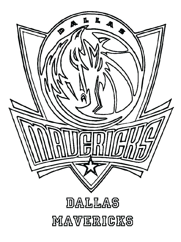 750x1000 Coloring Pages Nba