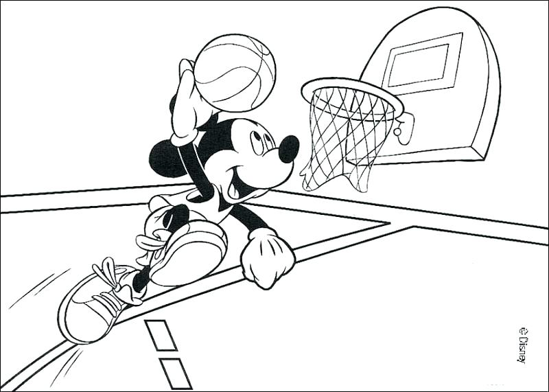 Ncaa Basketball Coloring Pages At Getdrawings Com Free For
