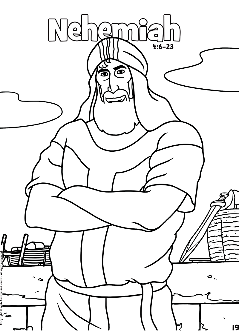 800x1112 Amazing Nehemiah Coloring Page New Coloring Gallery