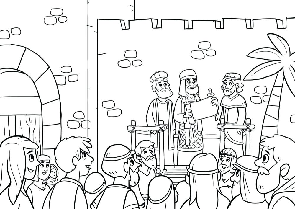 1000x708 Coloring Pages Ideas About Kids Bible Activities On Bible Free
