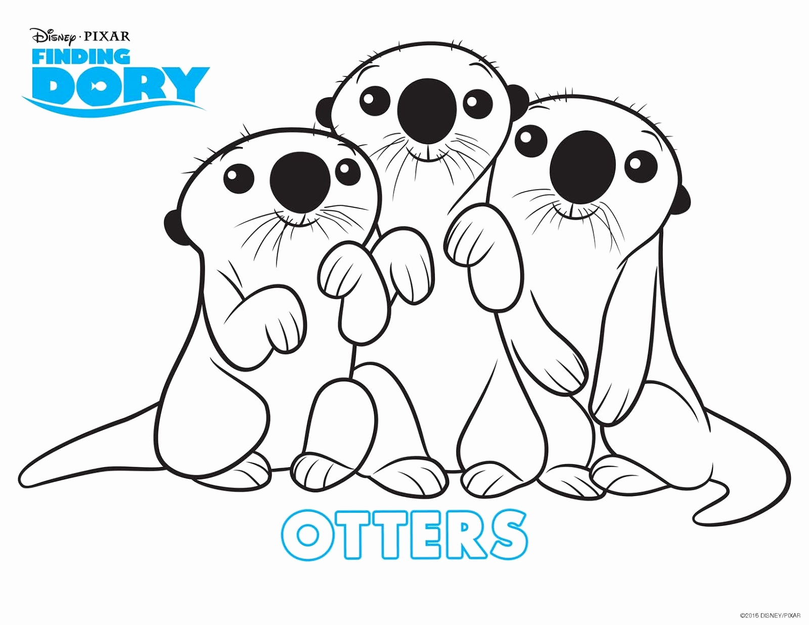 1600x1236 Happywithprintables Finding Dory Coloring Pages Printable Finding