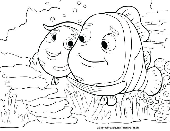 700x541 Finding Nemo Coloring Pages Finding Coloring Pages Finding