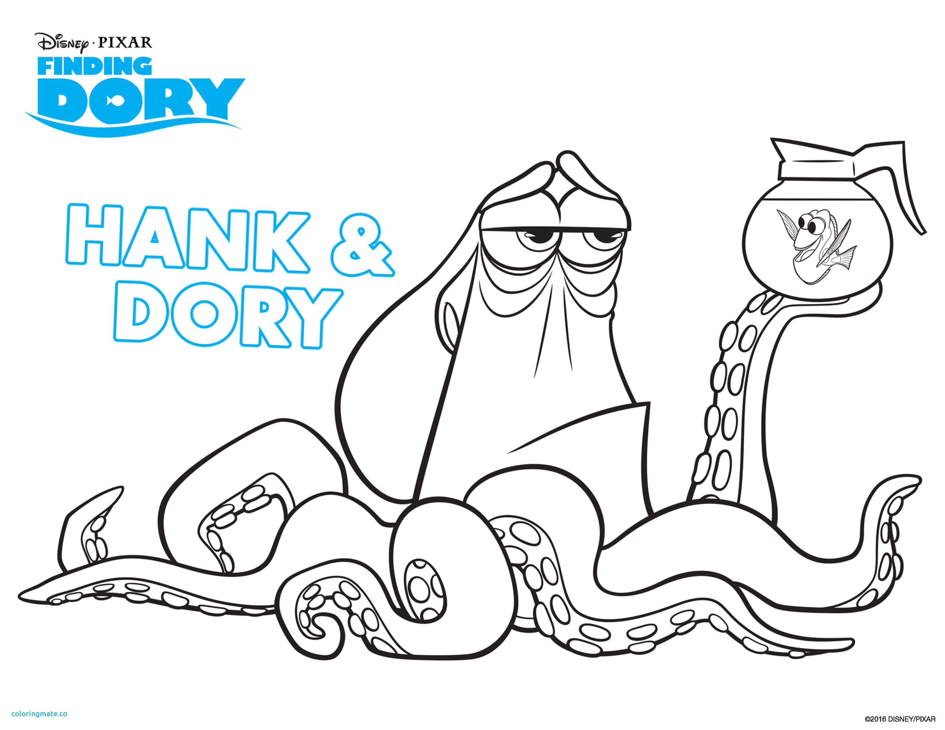 3300x2550 Finding Nemo Coloring Pages For Kids New Finding Nemo Printable