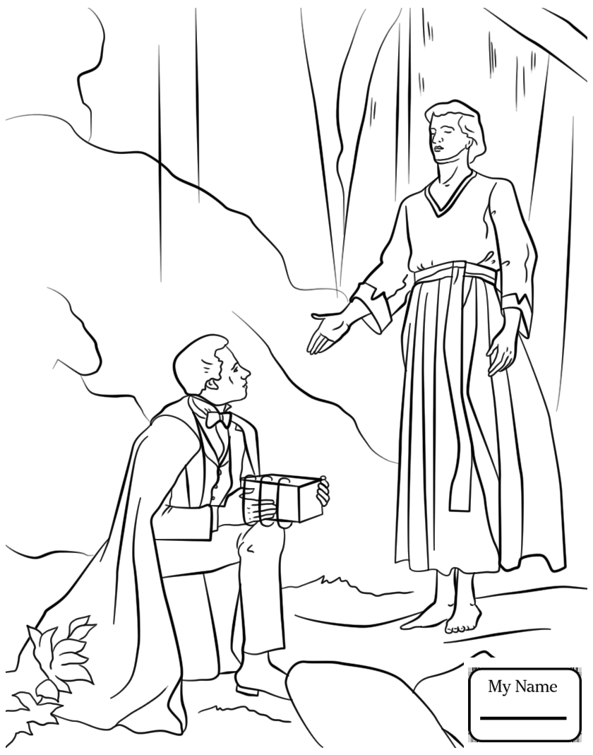 840x1069 Coloring Pages For Kids Lds Christianity Bible Nephi Builds A Boat
