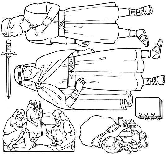 535x500 Image Lehi And Family Leaving Jerusalem Scriptures Book