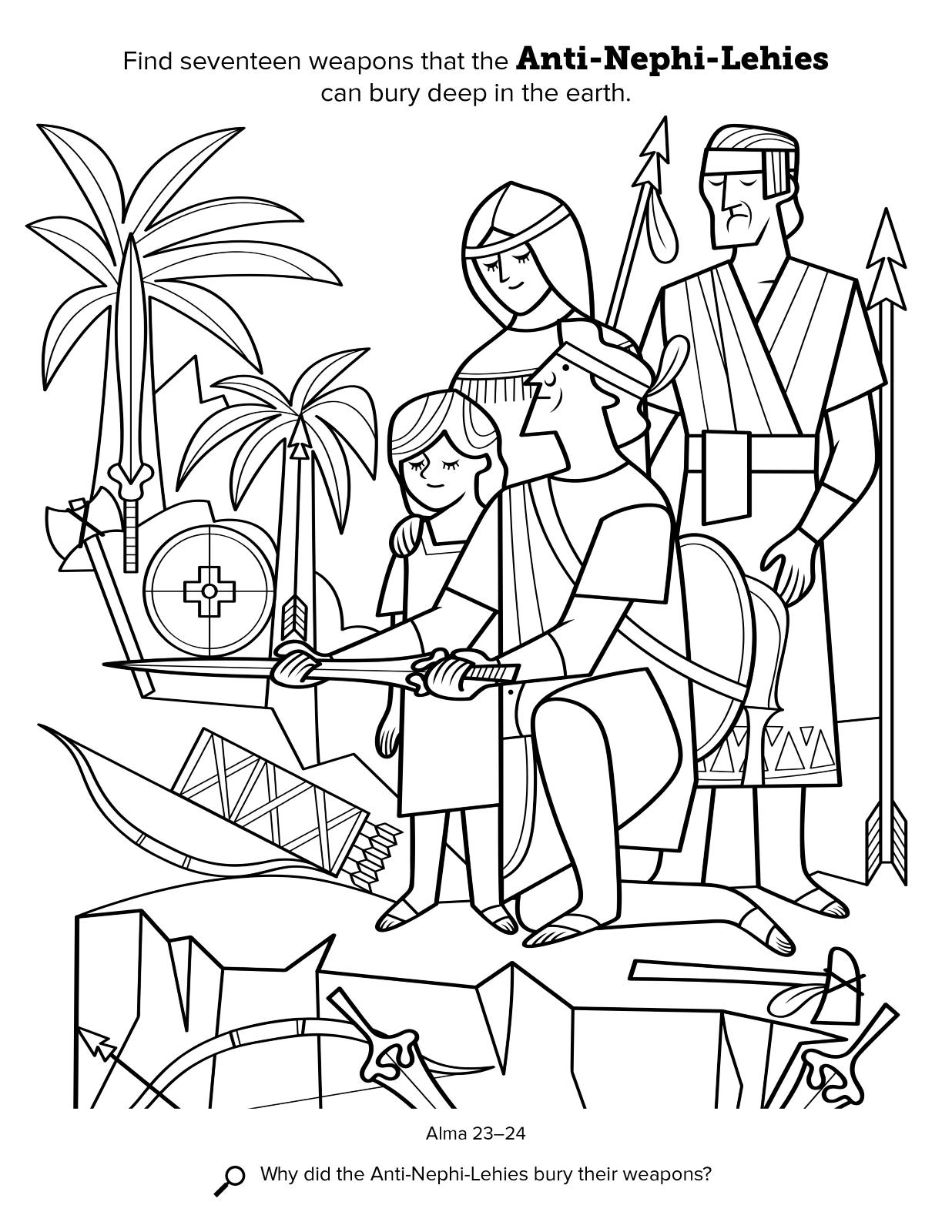 1236x1600 Anti Nephi Lehies Bury Their Weapons