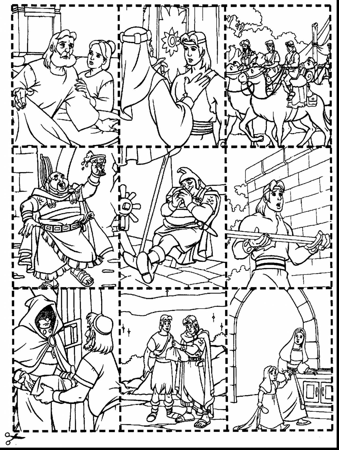 1437x1905 Inspirational Good Lds Nephi And The Brass Plates Coloring Pages