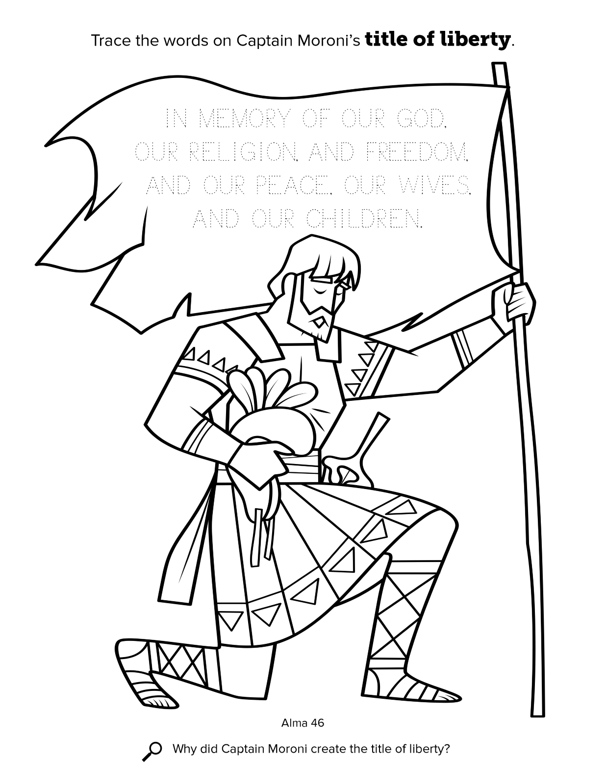 1236x1600 Largest Book Of Mormon Coloring Pages Nephi