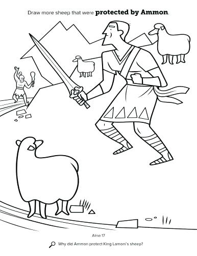 386x500 Mormon Coloring Pages The History Blog History Coloring Mormon