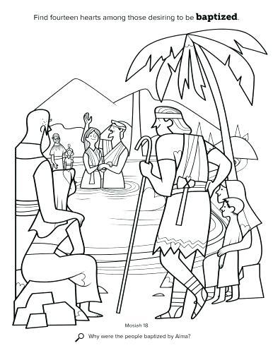 386x500 Mormon Coloring Pages