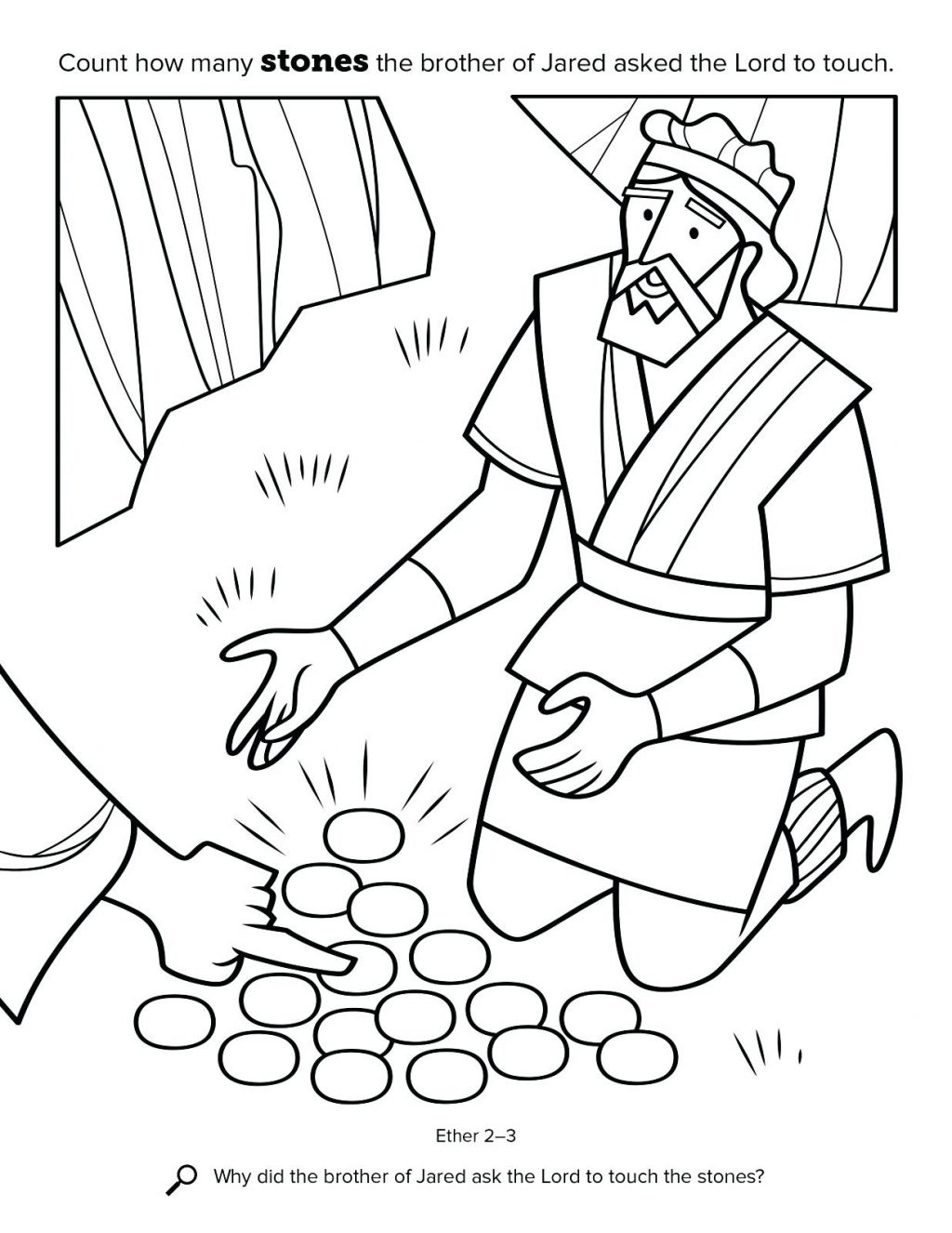 Nephi Coloring Page At Getdrawings Free Download