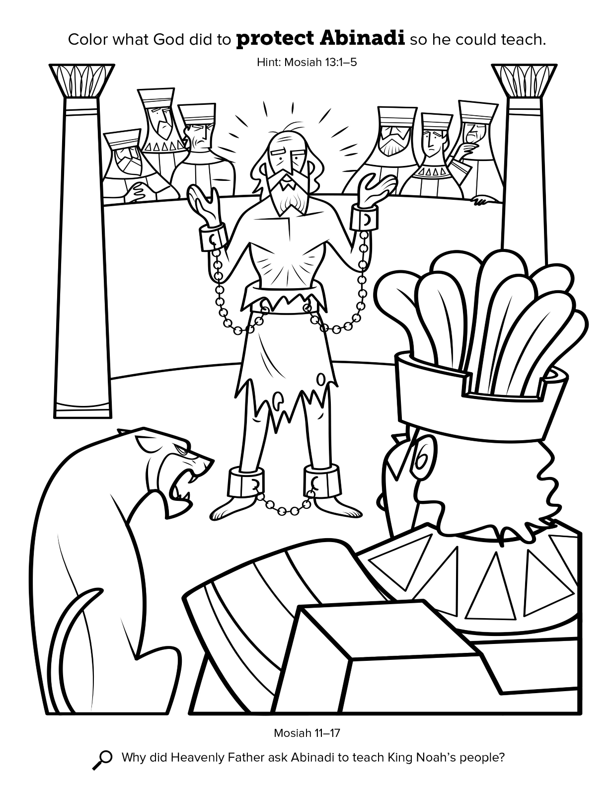 1236x1600 Book Of Mormon Coloring Pages Nephi