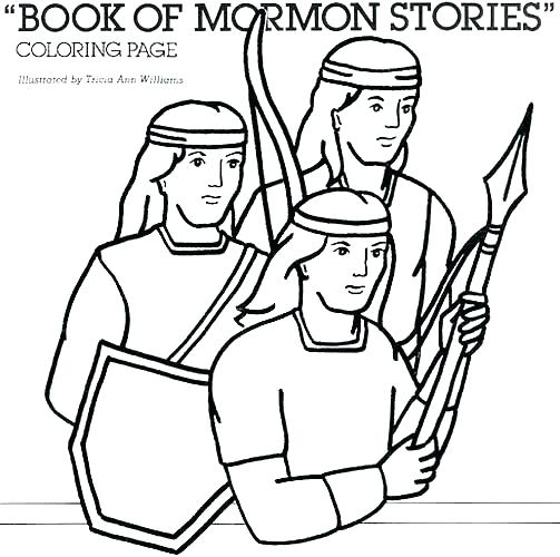 503x500 Book Of Mormon Coloring Pages Nephi Best Primary Images On Page