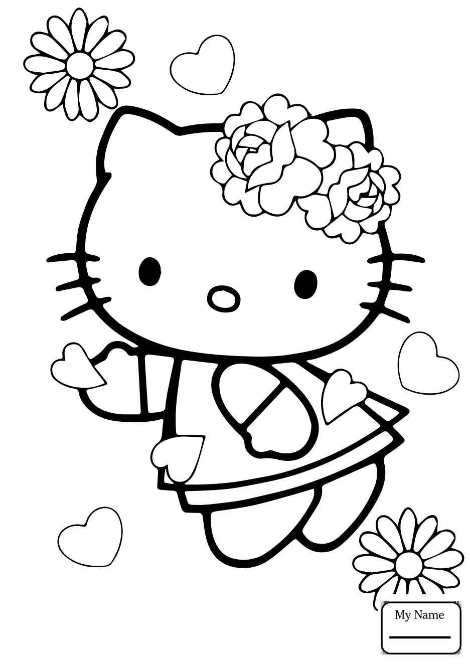 937x1326 Awesome Hello Kitty Nerd Coloring Pages Gallery Free Coloring Book