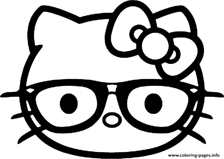 786x558 Hello Kitty Coloring Pages Nerd Print Hello Kitty Emoji Coloring