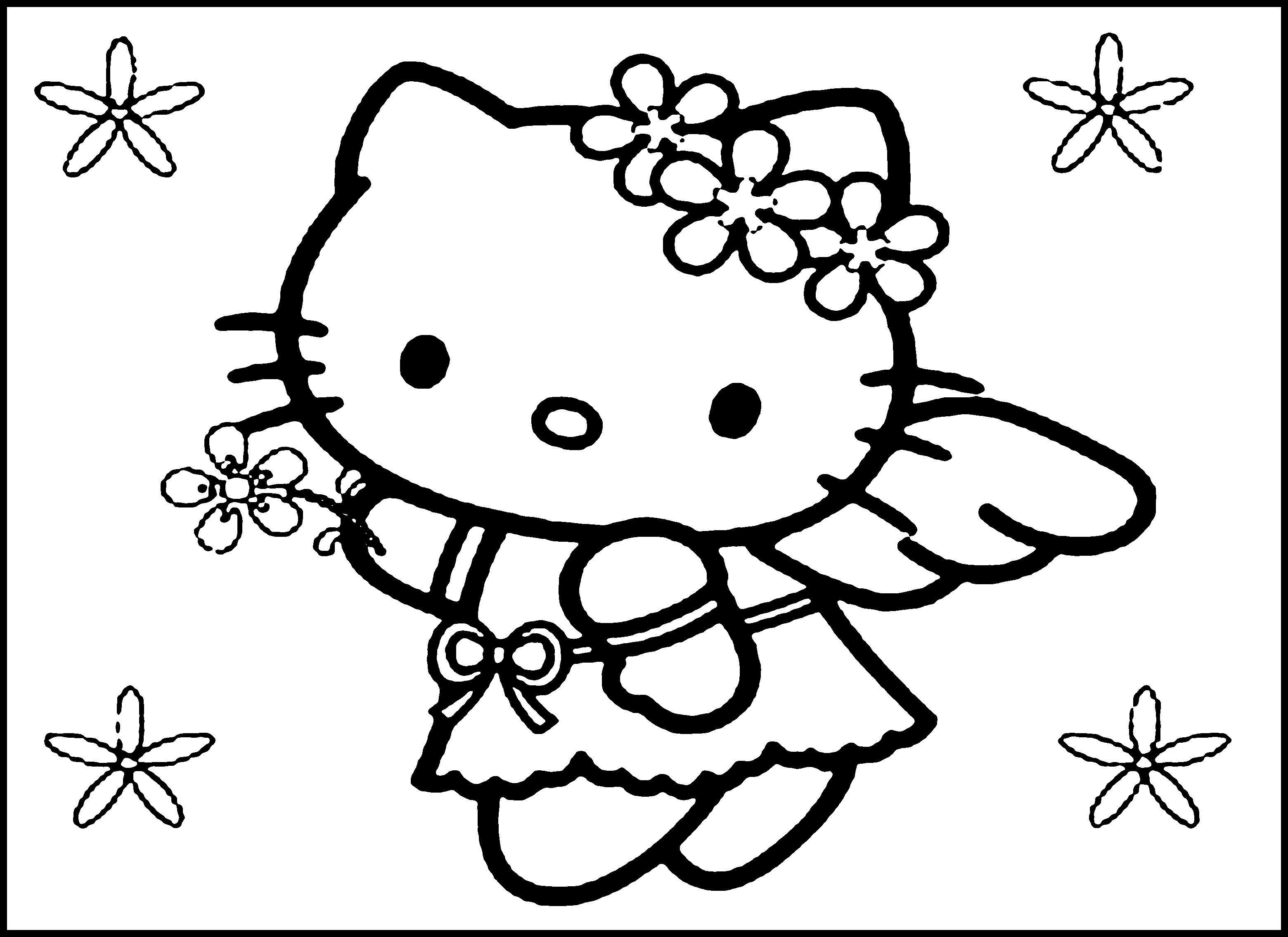 3120x2271 Hello Kitty Nerd Coloring Pages Coloring Page Fun