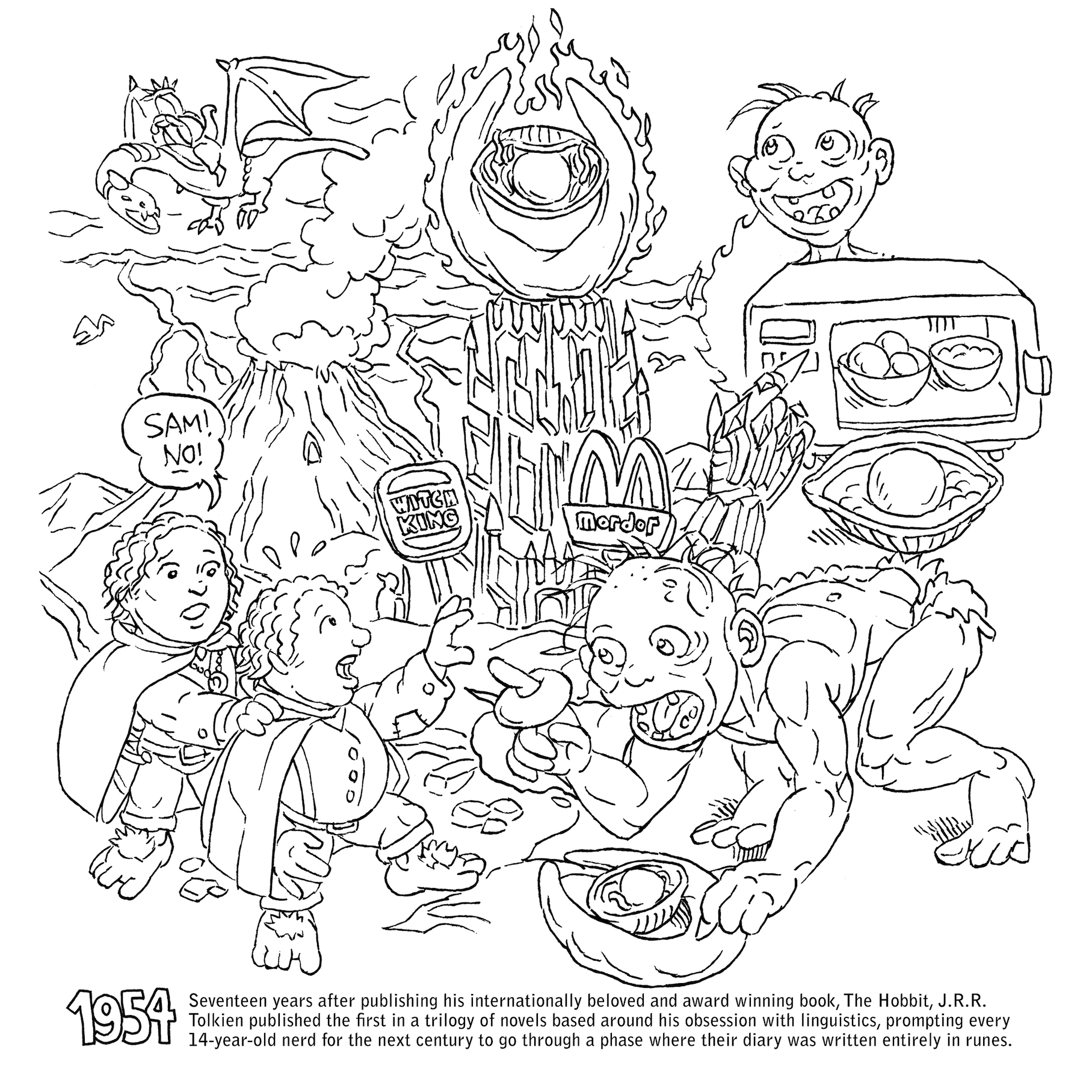 1815x1815 Profitable Geek Coloring Pages Historical Book