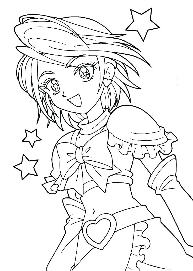 736x1031 American Girl Coloring Pages Girl Coloring Pages Printable Cartoon